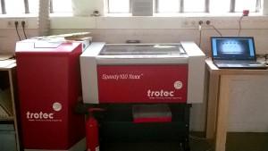 Arbeitsplatz Lasercutter