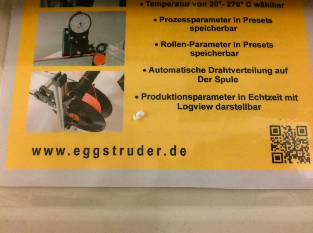 Eggstruder Filament Extruder