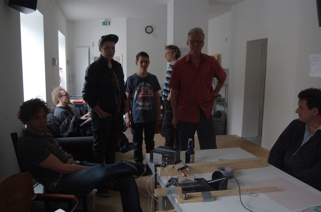 Leute im Fab Lab Hamburg