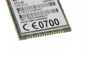 GSM-Chip, Rückseite.