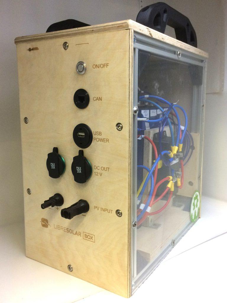 LibreSolar Box Open Source Solar Battery Pack
