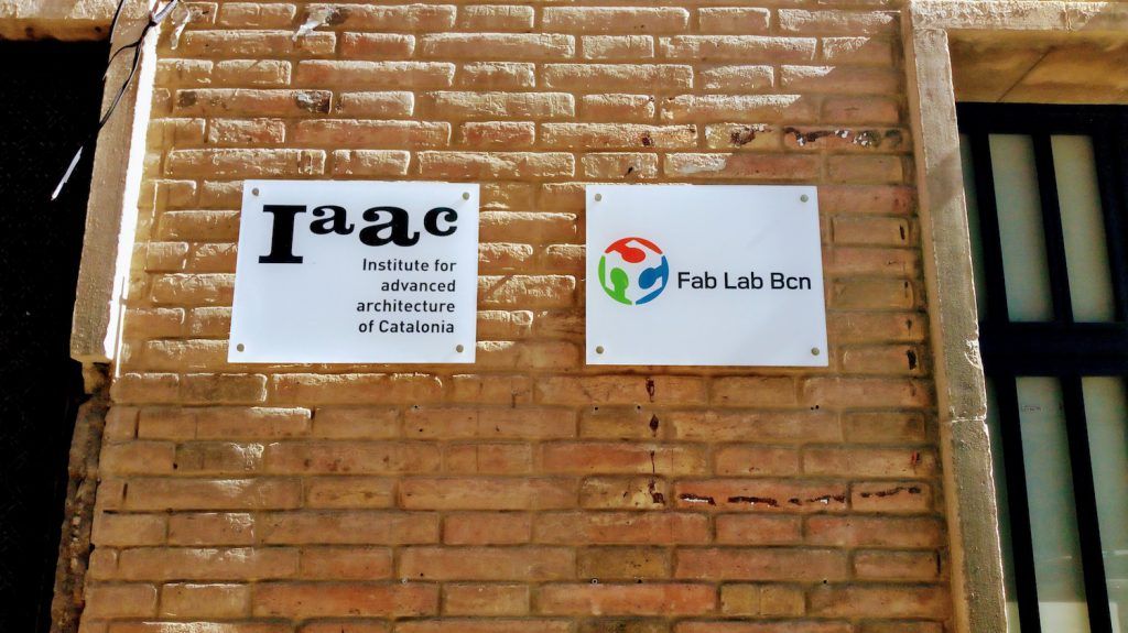 Haupteingang des IAAC