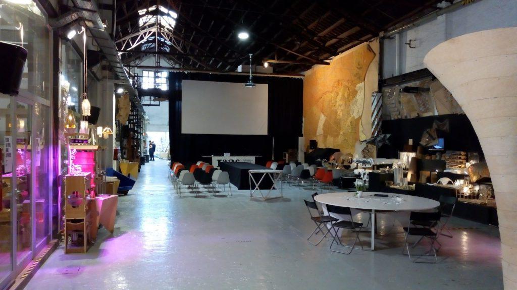 Die Halle des Fab Lab BCN